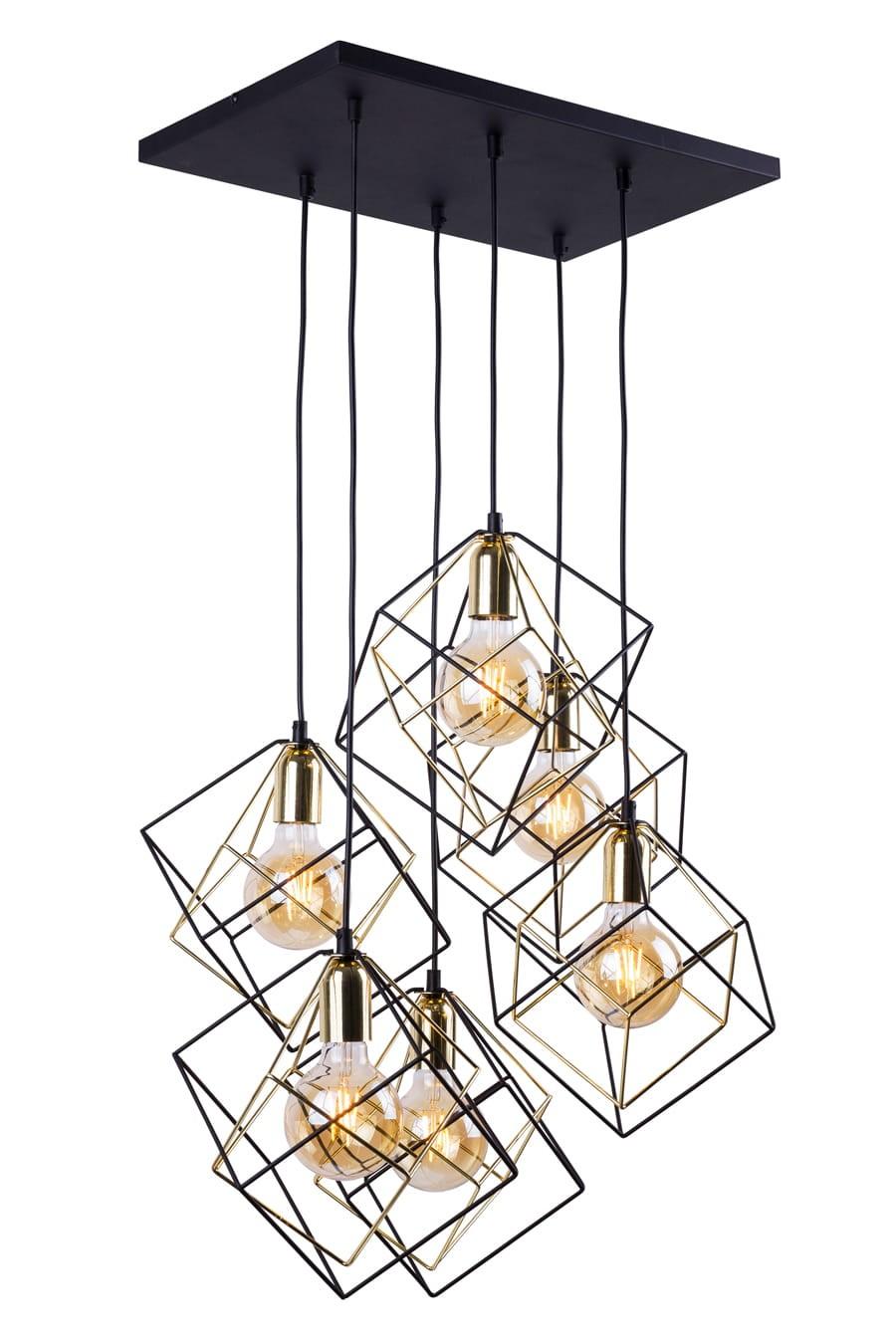 Lampa Sufitowa Do Salonu Loft Alambo 2779tk